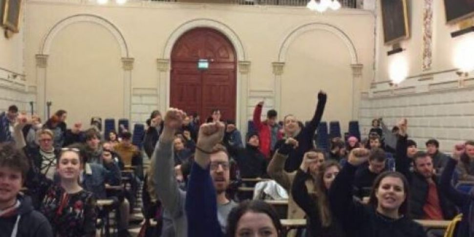 Trinity College Protesters Occupy Trinity Hall