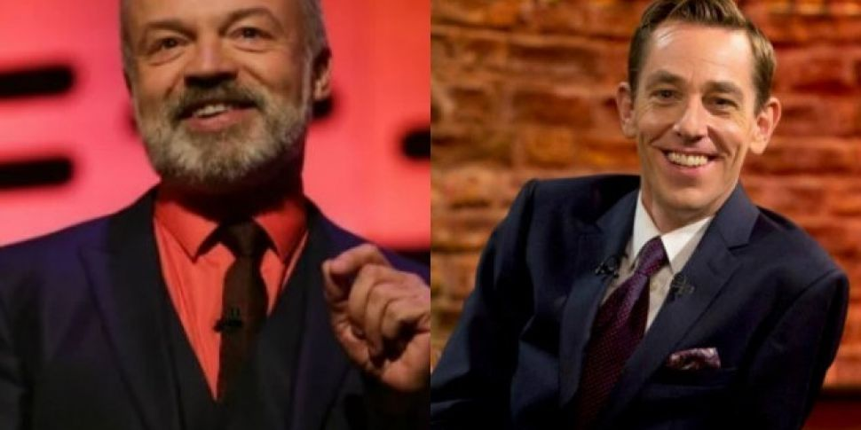 Tonight's Late Late Show And Graham Norton Guests
