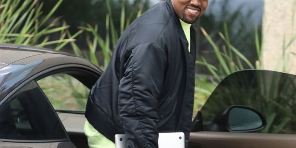 Kanye Shares A Work In Progres...