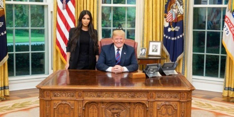Kim Kardashian West & Donald T...