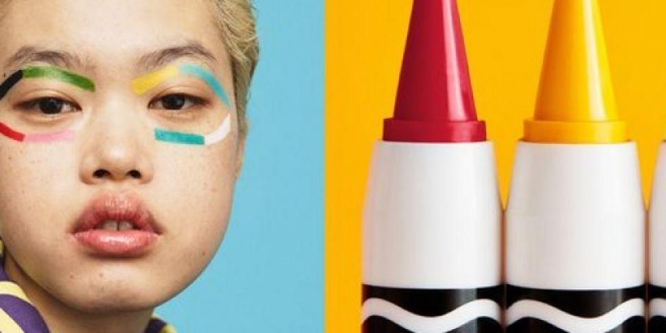 Crayola Launch Make Up Range W...