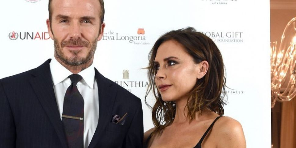Victoria And David Beckham Mar...