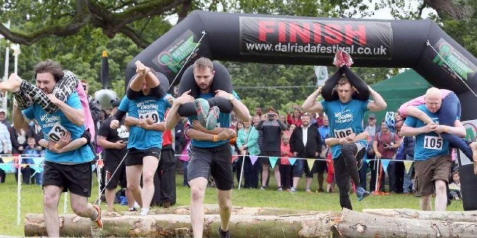 The All Ireland Wife Carrying...