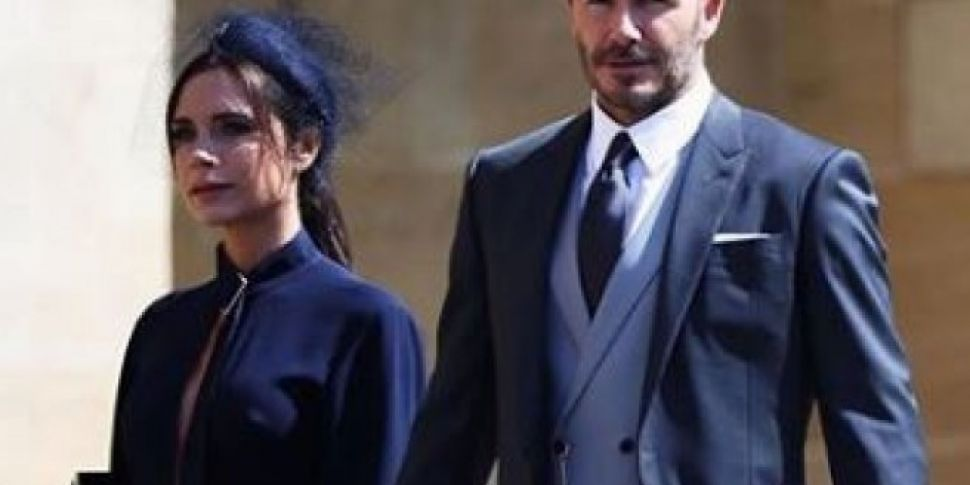 David And Victoria Beckham Add...