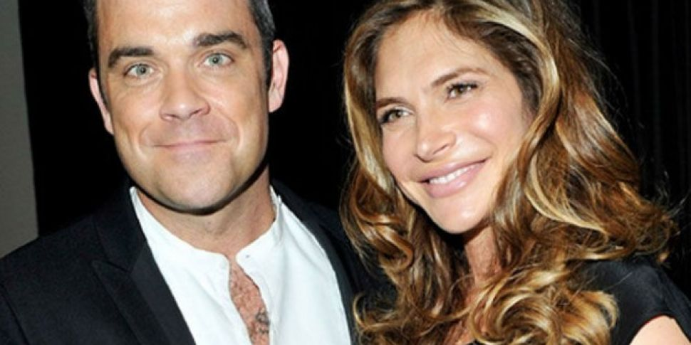 Robbie Williams And Wife Ayda...
