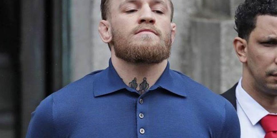 Conor McGregor Due Back In US...