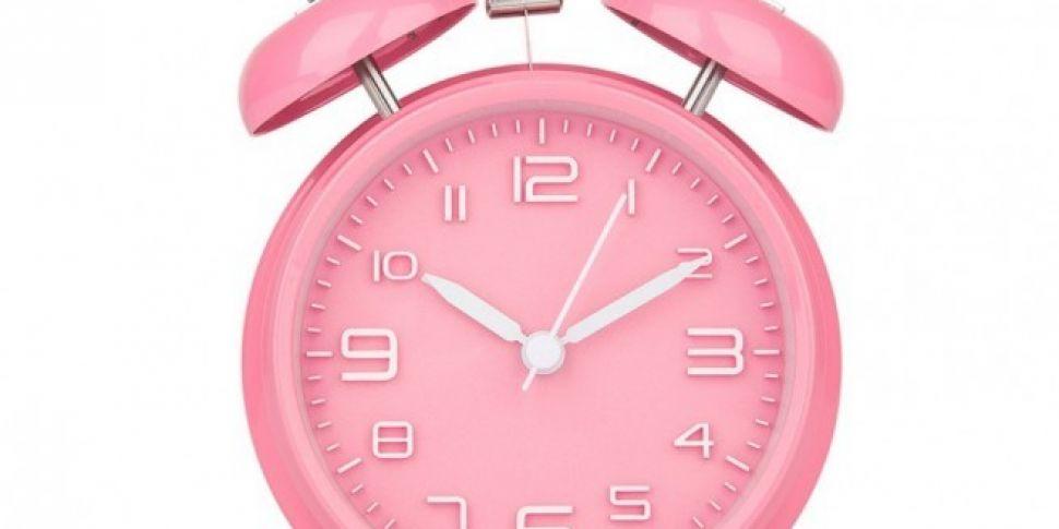 The Clocks Go Forward Tonight