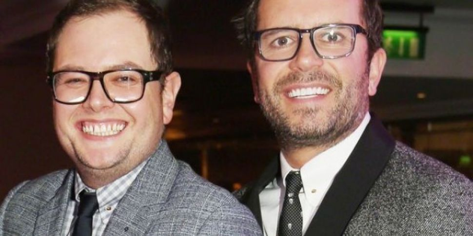 Alan Carr Married Partner in A...