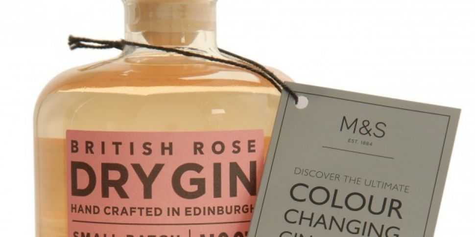 Marks and Spencer Colour Changing Gin