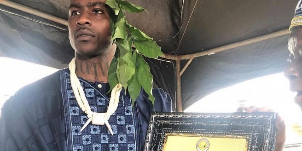 Skepta Is Now A Chief In Niger...