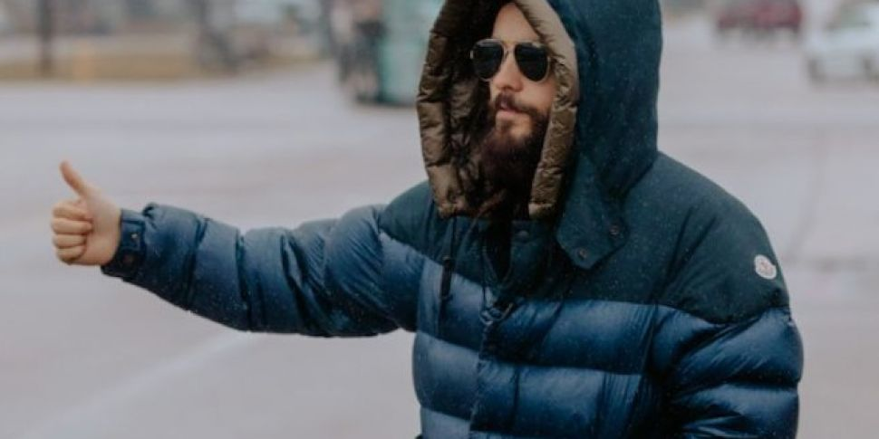Jared Leto Is Hitchhiking Across America To Promote 30 Seconds To Mars' New Album