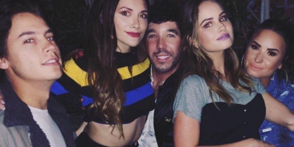Demi Lovato, Cole Sprouse & More Had A Disney Reunion