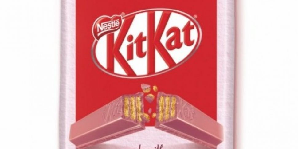 Kit Kat Launch A Pink Coloured Bar And We Are Here For It