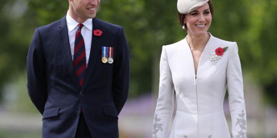 Prince William & Kate Middleto...