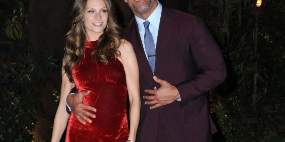 Dwayne Johnson & Lauren Hashian Share First Pic Of Baby Girl