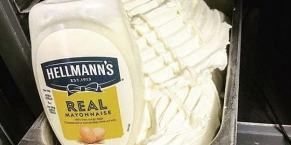 Mayonnaise Ice cream In Scotla...