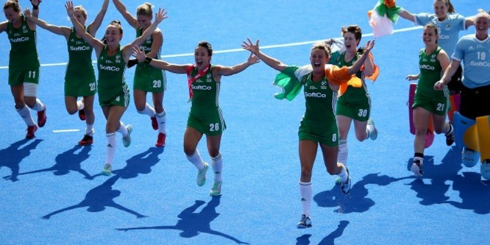 Irish Hockey Team Make A Big J...