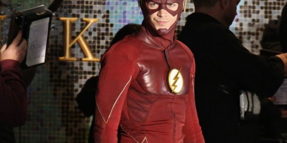 Grant Gustin Hits Back At Onli...