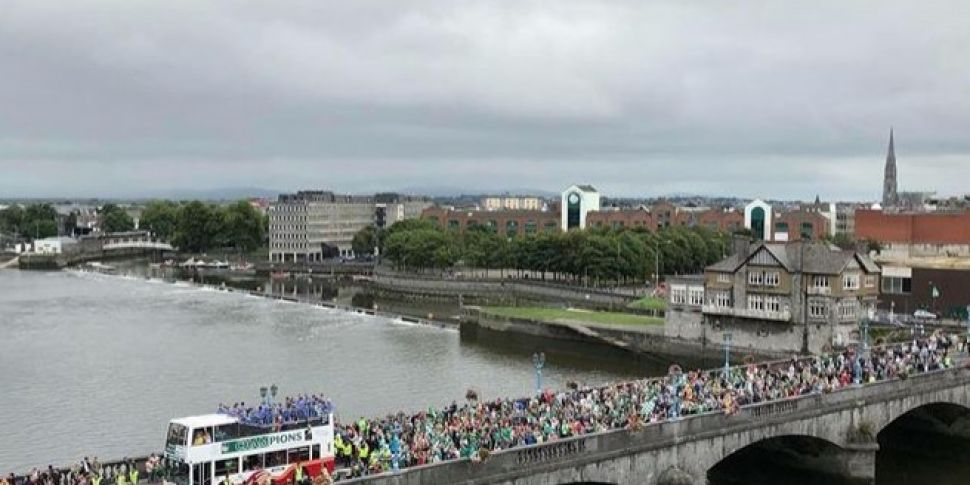 Limerick Welcomes Home The Liam McCarthy Cup After 45 Years