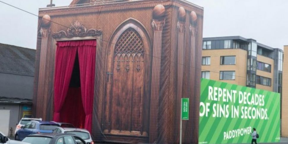 Huge Drive-Thru Confession Box Built For The Pope's Visit