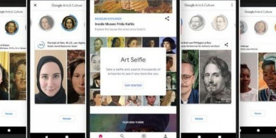 Google's Art Selfie App Will Find A Painting That Looks Like You