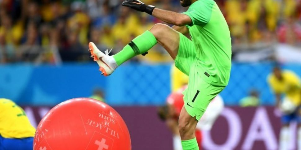 Brazil's Alisson Has No Time For Fun During The World Cup