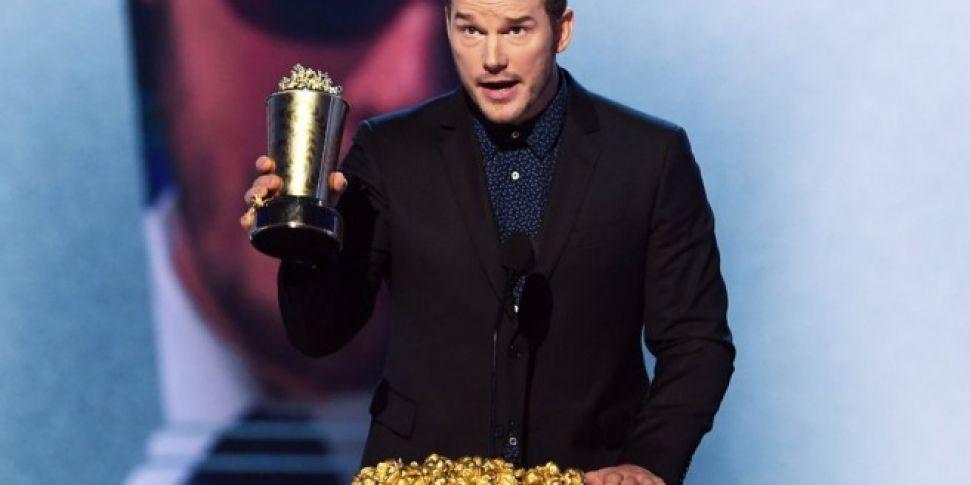 Chris Pratt Won The MTV Generation Award