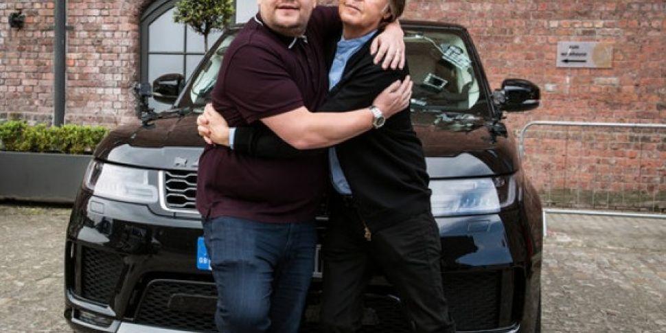Watch Paul McCartney's Carpool Karaoke With James Corden