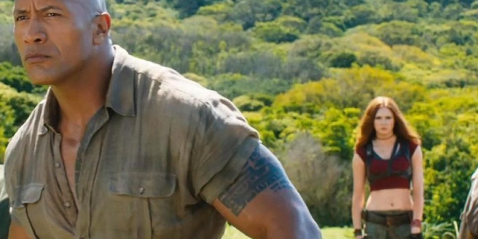 Busted's Charlie Simpson Criticised   'Jumanji' And The Rock Is Not Happy About It
