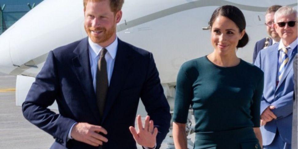 Prince Harry And Megan Meet President Michael D Higgins