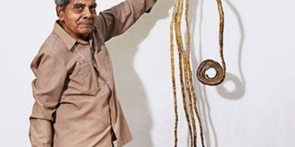 The Man With The World's longest fingernails Has cuts Them Off After 66 Years
