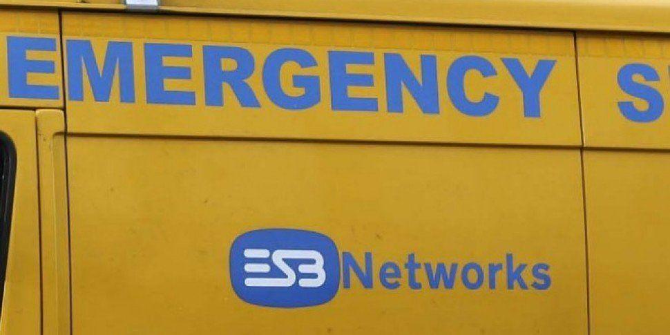 Around 140,000 Customers Without Power Across Ireland