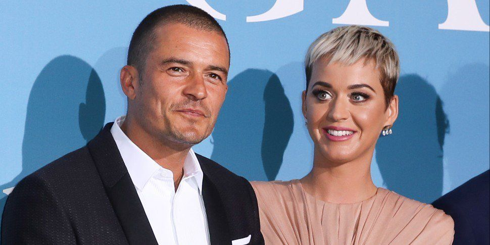 Katy Perry & Orlando Bloom Walk The Red Carpet Together