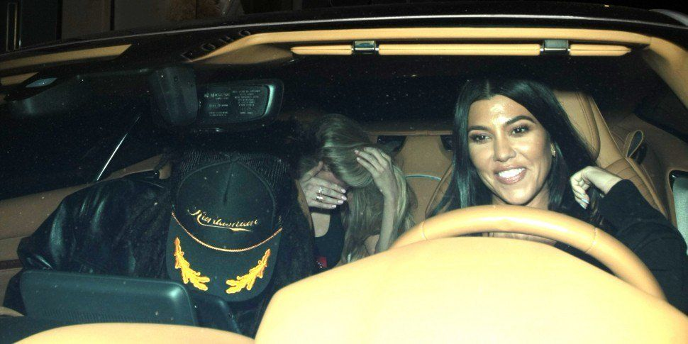 Kourtney Kardashian & Luka Sabbat Spotted On Dinner Date