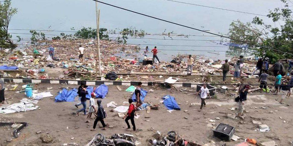 Indonesia Struck By Powerful Earthquake And Tsunami