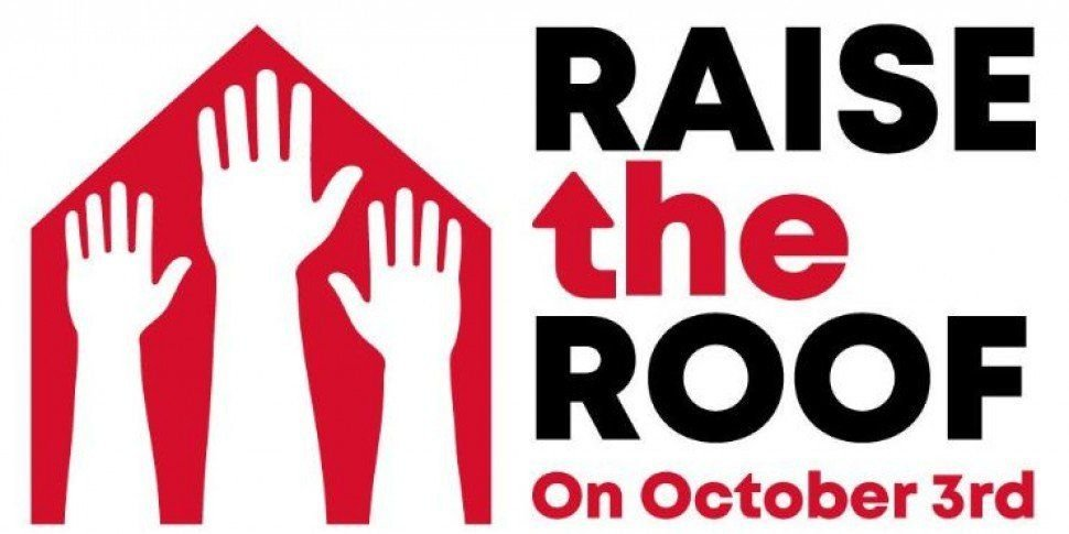 Thousands Have Turned Out For The 'Raise The Roof' Rally This Afternoon