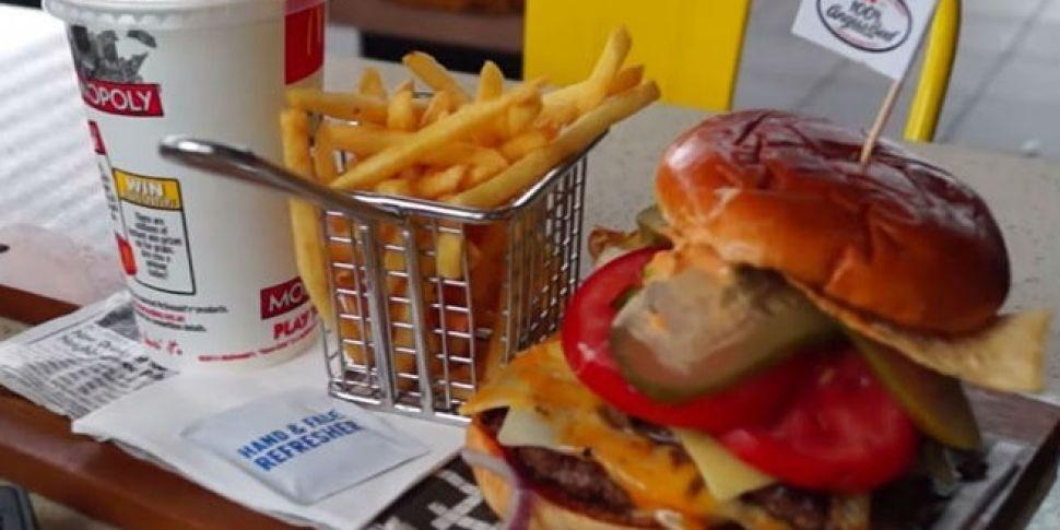 VIDEO: McDonald's in Oz la...