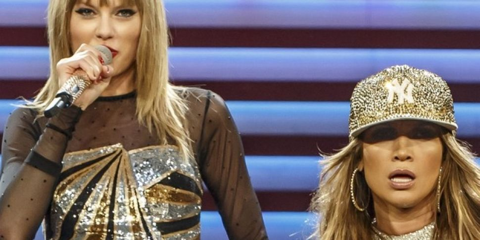 Taylor Swift and J-Lo To Colla...