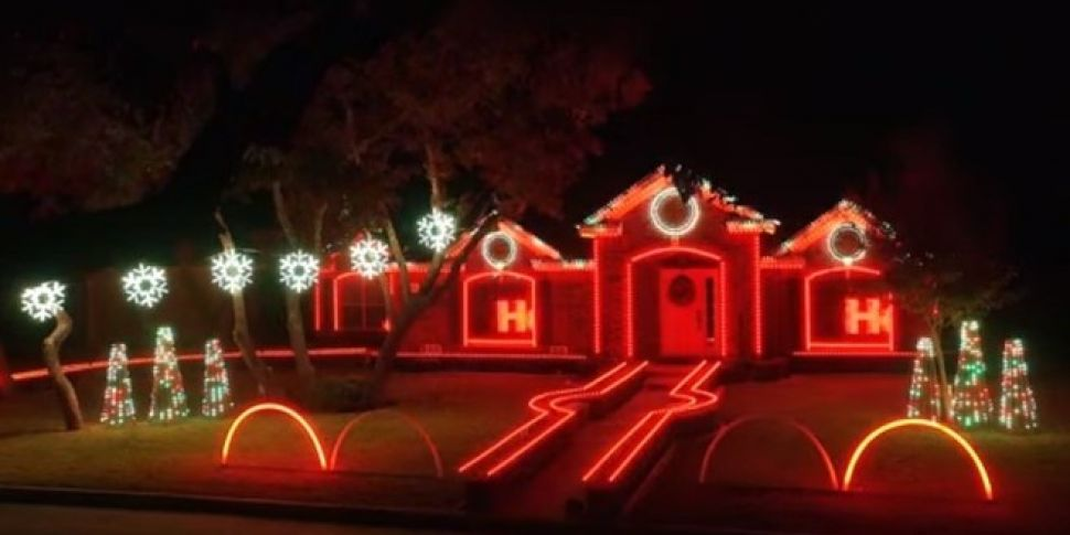 Christmas Dubstep.11 Minute Christmas Dubstep Light Display Spinsouthwest