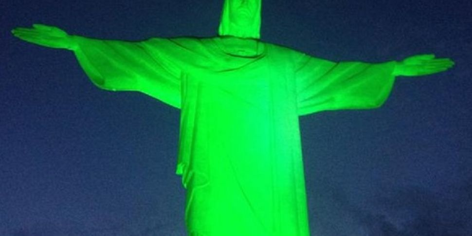 World going green for Paddy...