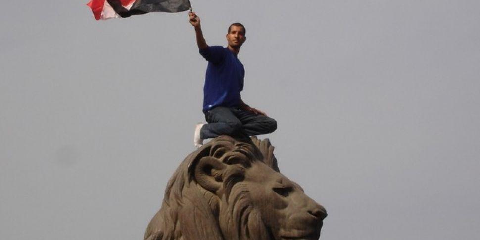 Egypt swears in interim leader...