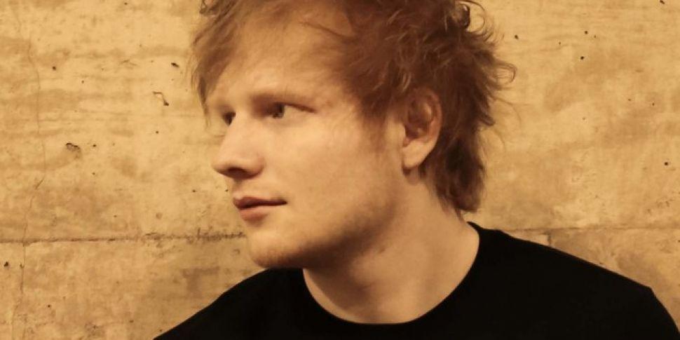Ed Sheeran tattoo as Gaeilge