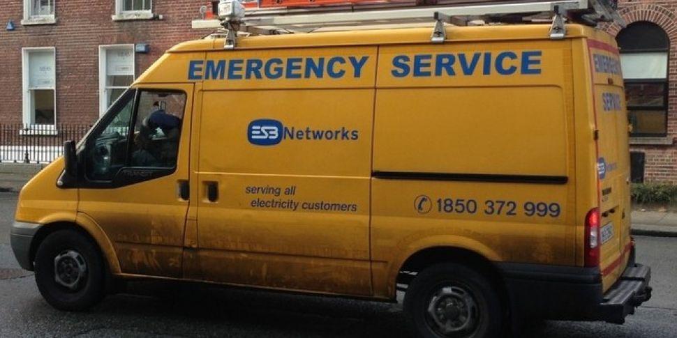 ESB working to restore power