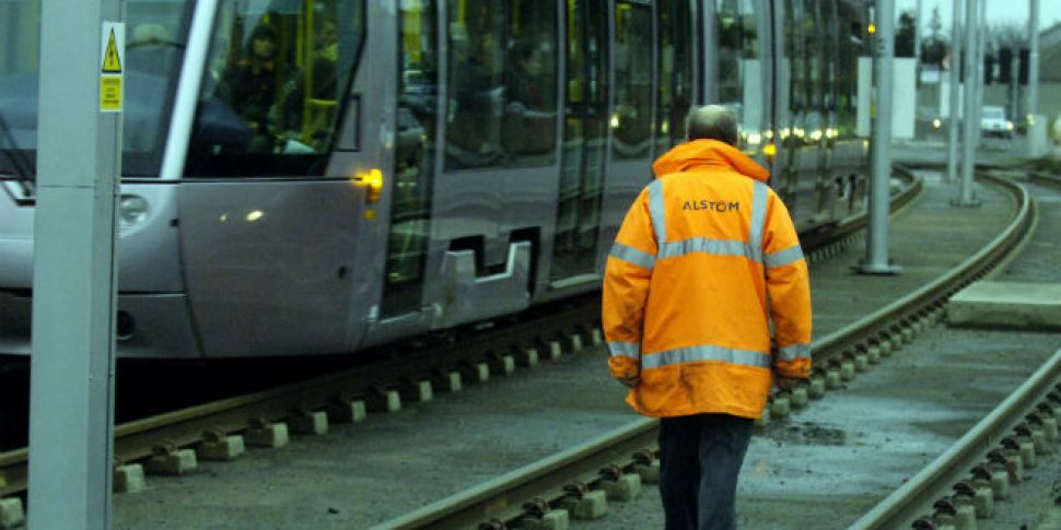 Luas Red line disrupted