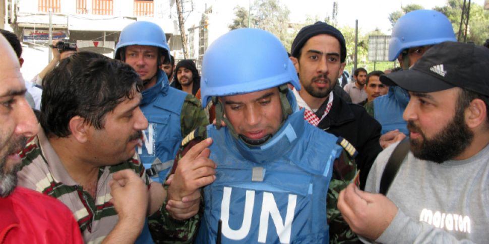 UN CHIEF CONDEMNS SYRIAN ATTAC...