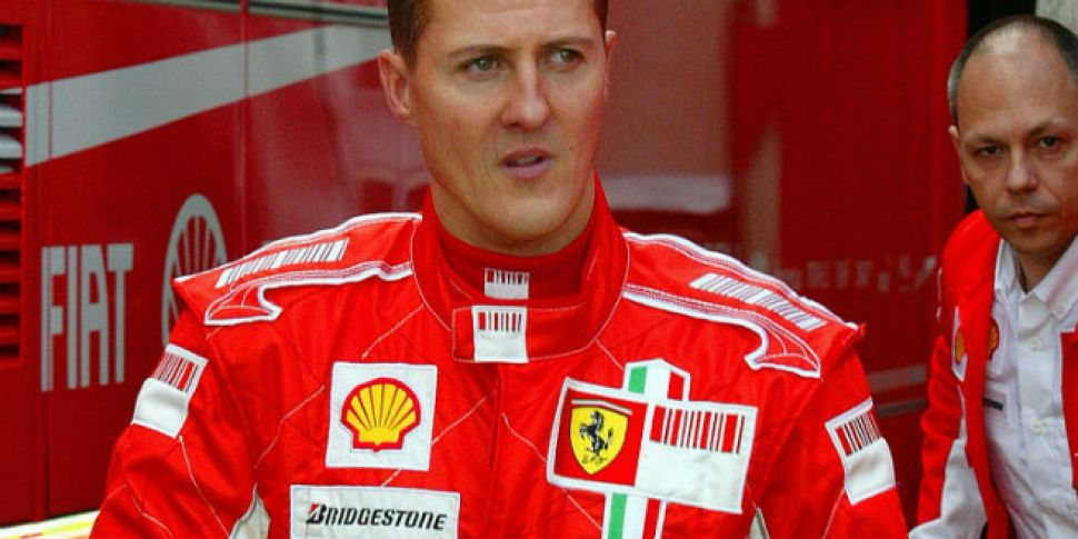 SCHUMACHER AIRLIFTED TO HOSPIT...