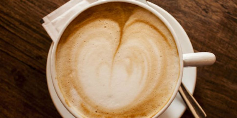 It's nearly coffee o'c...