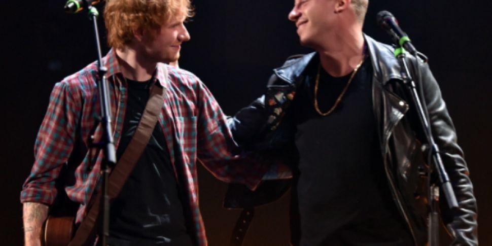 Macklemore and Ed Sheeran Perf...