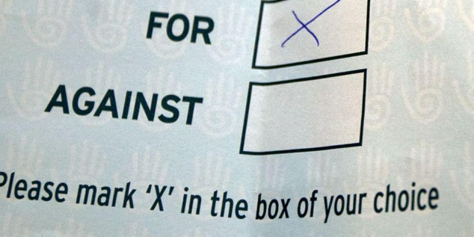 Referendum on Abortion, Voting...