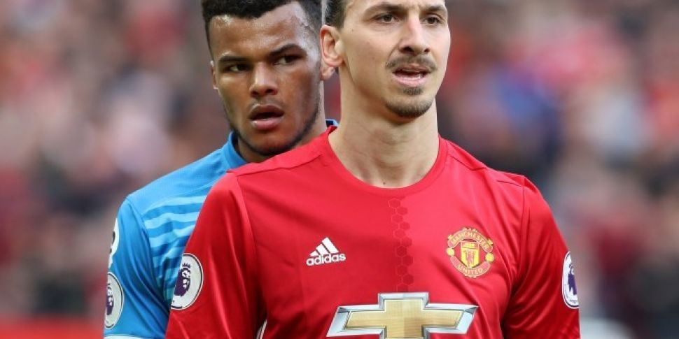 Zlatan and Mings both charged...